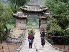 Walking home in Guizhou Province, PR China
