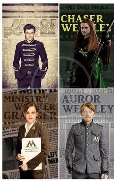 Harry Potter after Hogwarts