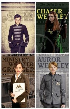 Harry Potter after Hogwarts