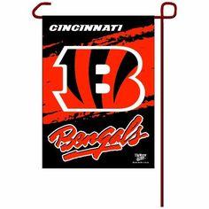 NFL Cincinnati Bengals Garden Flag by WinCraft. $8.96. NFL Cincinnati Bengals Garden Flag. Save 31% Off!