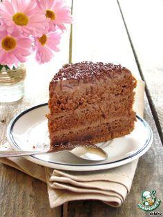 Торт «Brigadeiro» - кулинарный рецепт