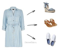 Платья by posohovifamily on Polyvore featuring River Island, MICHAEL Michael Kors, Keds and Topshop