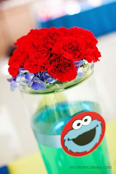 Sesame Street inspired Birthday Party Ideas   Photo 18 of 24   Catch My Party