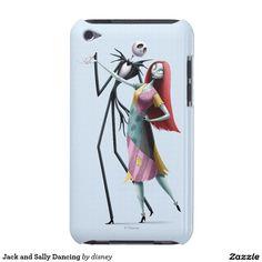 Jack Skellington y baile de Sally iPod Touch Carcasas