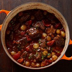 The mushroom-infused broth from soaking dried porcini is incorporated into this hearty beef stew for more of that earthy flavor. Serve with crusty Italian bread for mopping up every last bit of broth.
