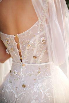 Boho Dress, Lace Dress, Dress Sleeves, Pretty Dresses, Beautiful Dresses, Dream Wedding Dresses, Lace Wedding, Wedding Corset, Backless Wedding