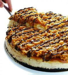 Turtle Cheese Cake Dessert