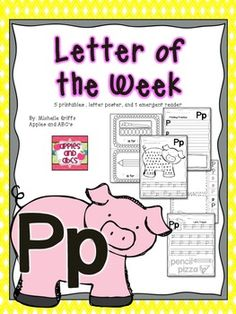 Letter P {Letter of the Week}