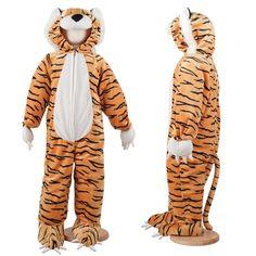 Children's Tiger Dress Up Costume