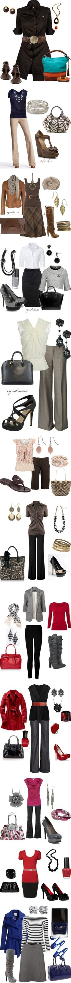 """""""Work clothes"""" by mfurlong on Polyvore"""