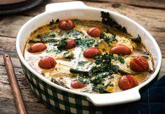 Simpele kabeljauw curry uit de oven