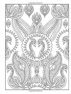 Creative Haven Mehndi Designs Coloring Book: Peacocks Pattern Coloring Pages, Coloring Book Pages, Coloring Sheets, Doodle Coloring, Mandala Coloring, Creative Haven Coloring Books, Mandala Pattern, Colorful Drawings, Art Plastique