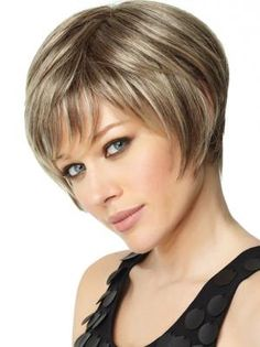 easy-care short bob cut