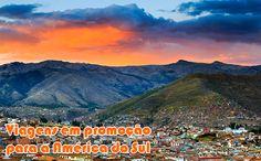 Passagens em promoção 2016 para destinos da América do Sul #passagens #voos #viagem #promoção