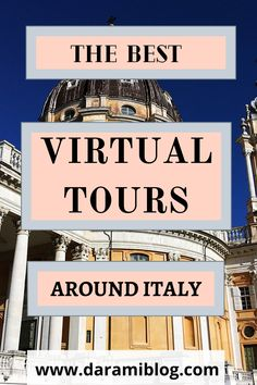 If you love visiting museums and galleries then this post is for you. Get transported in Italy with these affordable tours. Check my favorite virtual tours and be amazed. #virtualtravel #virtualtours #distancetravel #travel Virtual Travel, Virtual Tour, Best Flight Deals, Sistine Chapel, Roman History, Online Travel, Visit Italy, Famous Places, Travel Around The World