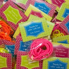 Neon Roller Skate Party // Hostess with the Mostess® Skate Party, Neon Party, Disco Party, Roller Skating Party Favors, Disco Theme, 11th Birthday, Birthday Fun, Birthday Party Themes, Birthday Ideas