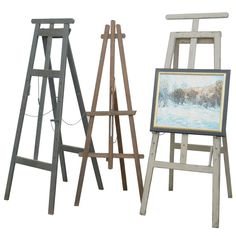 Victorian Painter's Easles | From a unique collection of antique and modern easels at http://www.1stdibs.com/furniture/more-furniture-collectibles/easels/