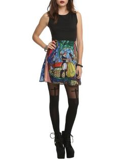 Disney Beauty And The Beast Stained Glass Dress Size : Medium Disney,http://smile.amazon.com/dp/B00GYSDIHE/ref=cm_sw_r_pi_dp_UqBvtb07NKEVDD7W