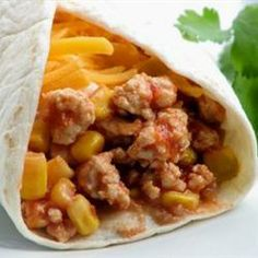 """Gary's Turkey Burritos 
