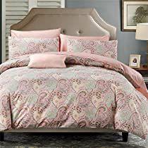 Paisley Bedding, Duvet Bedding, Linen Bedding, Bedding Sets, Bed Duvet Covers, Duvet Cover Sets, Egyptian Cotton Duvet Cover, Ikea Bedroom, Bed And Breakfast