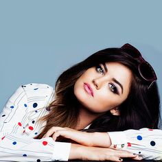 Lucy Hale has the most amazing eyebrows