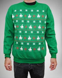 Ugly Humping Reindeer Sweatshirt