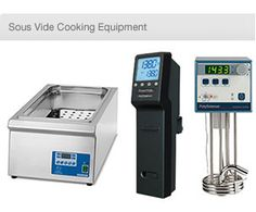 View our Sous Vide water bath cookers