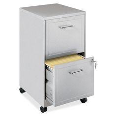 Lorell 16873 2-Drawer Mobile File Cabinet, 18-Inch Lorell,http://www.amazon.com/dp/B0033JCCXI/ref=cm_sw_r_pi_dp_Q-nWsb15YW7DRMKP
