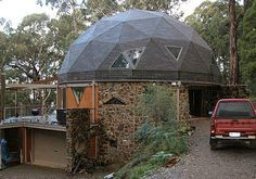 my geodesic home: cheaper to build and maintain, and more square feet than a traditional home