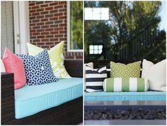 Outdoor Pillows | Brooke Jones Designs