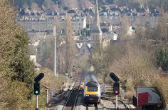 Die Great Western Bahn von London nach Bath, England
