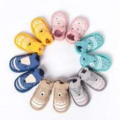 Cool Mooistar2 #L030 Cartoon Newborn Baby Girls Boys Anti-Slip Socks Slipper Bell Shoes Boots - $8.1 - Buy it Now!