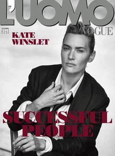 Kate Winslet on L'Uomo Vogue November 2015 cover