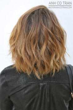 LA: A FRESH AND FUN LOOK. Cut/Style: Anh Co Tran. Appointment inquiries please call Ramirez|Tran Salon in Beverly Hills: 310.724.8167