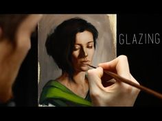 Glazing : Oil painting techniques - step by step demonstration - YouTube
