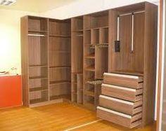 Resultado de imagen para vestidores modernos para espacios pequeños