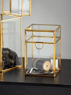 NEW Brass Display Box - Short