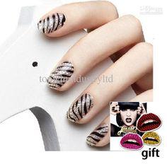 Wholesale Nail Wraps - Buy NEW Fashion 3D Rhinestone Wrap Foil Decals Nail Sticker Nail Art Decoration Free Shpping, $0.34 | DHgate