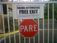 Spanglish is used all the time by Latinos. They switch from one language to other in middle of talk. Or to give a better understanding to someone by using both languages as a symbol on signs. For example, restaurant owner using Spanglish word in restaurants. people advertising on walls, doors, and/ or TV commercial. Spanglish has become a lot popular. It's a new way of communicating, giving information, and having a better understanding.