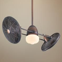 "42"" Gyro Restoration Bronze Finish Ceiling Fan"