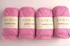Rowan Handknit Cotton col Sugar 303, pink, cotton yarn