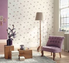 Collection : BUTTERFLY, Envol #papierpeint #decoration #interieur #douceur #reve #Caselio http://www.caselio.fr