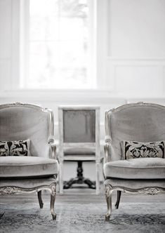 grey velvet armchairs #luxury #decor