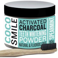 Activated Charcoal Teeth Whitening - PRETTYWOO