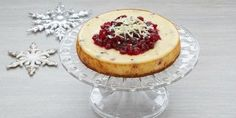 This cheesecake is indeed festive, but makes a perfect celebration dessert anytime time of year.
