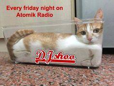 DJ SHOO en live tous les vendredis soir sur Atomik Radio et en Webcam sur Facebook  https://www.facebook.com/DJSHOOOOOOOO/