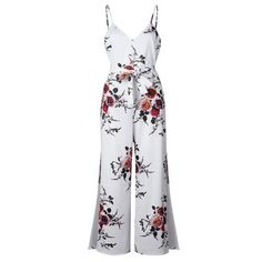 e271db3d4c0b Jumpsuits. Overalls Plus SizeFlorida OutfitsWide Leg PantsPlaysuitWomen s  Summer FashionJumpsuits For WomenFloral RomperStreet WearOne Piece
