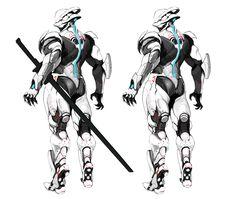 ArtStation - cyborg ninja, shinku kim