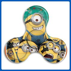 Tri Hand Fidget Spinner Minions Perfect Gift For ADD, ADHD, Anxiety,and Autism Adult Children Relieves Anxiety,Autism And Boredom - Fidget spinner (*Amazon Partner-Link) Cool Fidget Spinners, Fidget Spinner Toy, Kids Toys For Christmas, Hand Fidgets, Add Adhd, Despicable Me, Adult Children, Autism, Minions