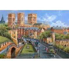York 250 Piece Scenic Wooden Jigsaw Puzzle by Wentworth. Made in Great Britain. Beautiful gift.